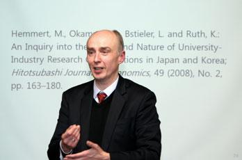 DIJ Forum: Martin Hemmert