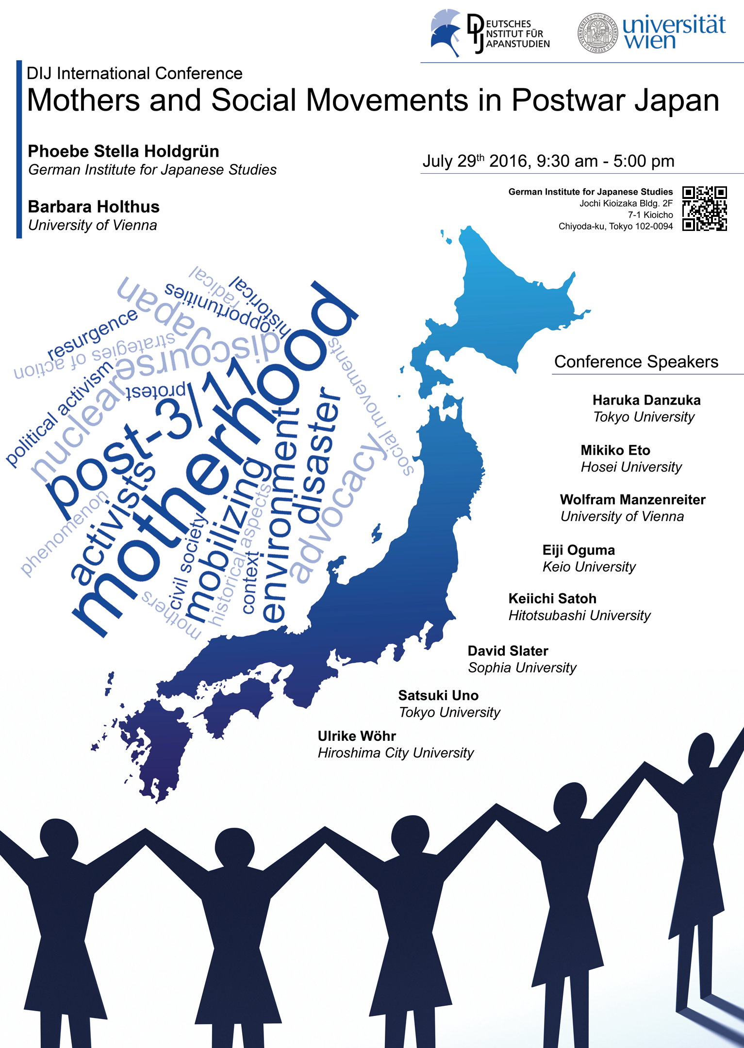Mothers and Social Movements in Postwar Japan