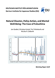 Natural Disaster, Policy Action, and Mental Well-Being: The Case of Fukushima