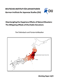 Disentangling the Happiness Effects of Natural Disasters: The Mitigating Effects of Charitable Donations