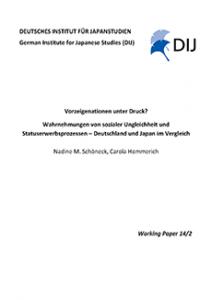 Vorzeigenationen unter Druck? Wahrnehmungen von sozialer Ungleichheit und Statuserwerbsprozessen – Deutschland und Japan im Vergleich