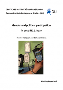 Gender and Political Participation in post-3/11 Japan