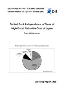 Central Bank Independence in Times of High Fiscal Risk – the Case of Japan