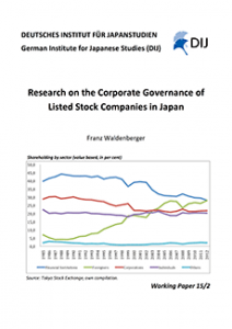 Research on the Corporate Governance of Listed Stock Companies in Japan