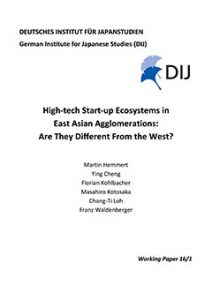 High-tech Start-up Ecosystems in  East Asian Agglomerations: Are They Different From the West?