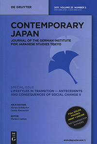 Contemporary Japan 23, No. 2
