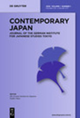 Contemporary Japan 24, No. 2 Tourism and Travel in Japan