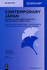 Contemporary Japan 23, No. 1