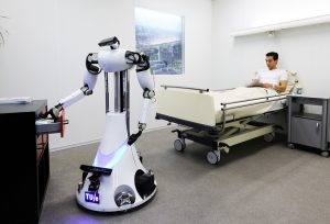 The Development of (Social) Robots  for Health Care Scenarios:  Hopes, Concerns and Limits