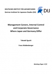 Management Careers, Internal Control and Corporate Governance. Where Japan and Germany Differ