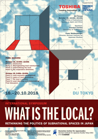 What is the 'local'?<br>Rethinking the politics of subnational spaces in Japan