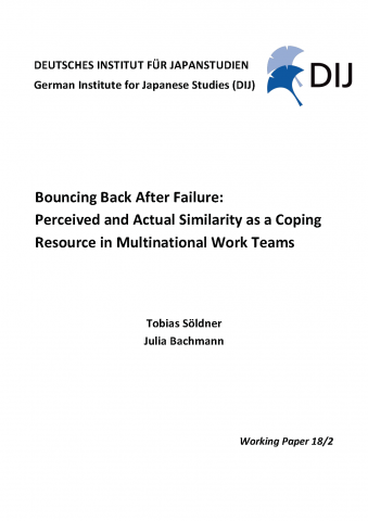 Bouncing Back After Failure: Perceived and Actual Similarity as a Coping Resource in Multinational Work Teams
