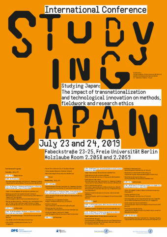 Studying Japan: The impact of transnationalization and technological innovation on methods, fieldwork and research ethics