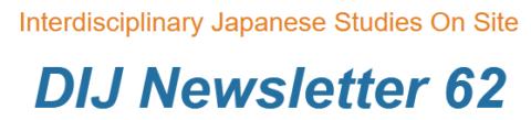 DIJ Newsletter 62, December 2020