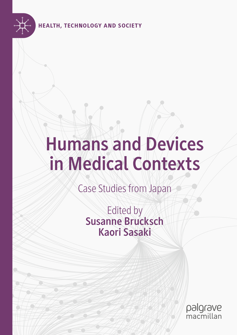 2021 book cover Humans and Devices in Medical Contexts