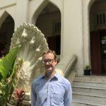 David on the campus of Chulalongkorn University